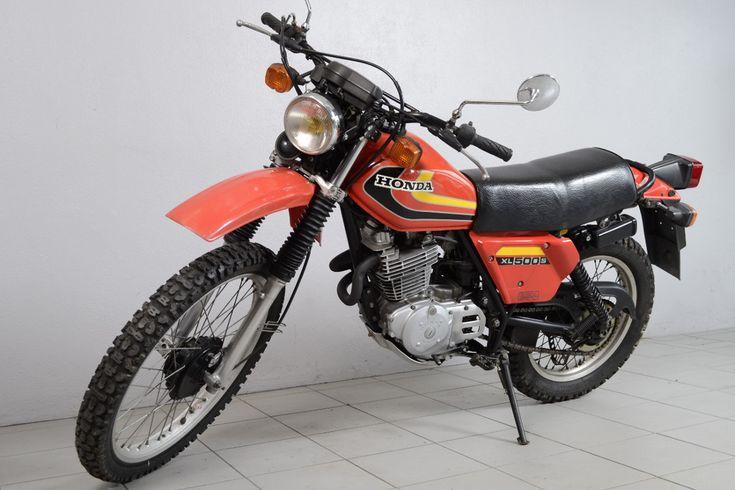 Honda 500 Xls 7 Motos Honda Honda Motos