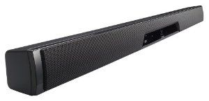 Sharp HTSB500 3.1 Sound Bar Audio System with Digital Decoding and Touch Panel Technology (Black) by Sharp. $499.99. The new HT-SB500 sound bar is stylish and sleek delivering unbelievable sound with rich bass from one slick simple speaker. A powerful built-in subwoofer along with built in DTS, Dolby Digital decoders and SRS Surround sound functions will have you convinced you're in a room full of speakers.