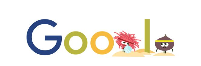 Day 14 of the 2016 Doodle Fruit Games! Find out more at g.co/fruit | Google Doodle 08/18/2016