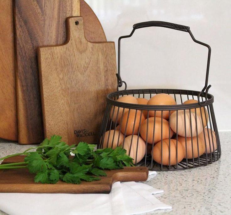 Small Round Wire Basket