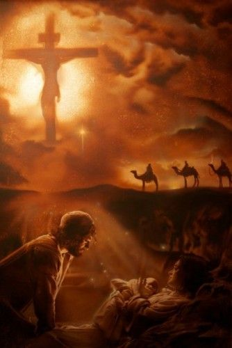 He came so we could live!
