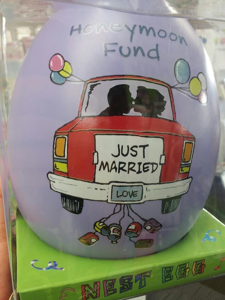 Love this idea! 'Honey Moon' Nest Egg - Charity's Rotorua - All profits go towards funding charity groups and events - www.rotorua.co.nz