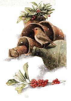 Winter bird