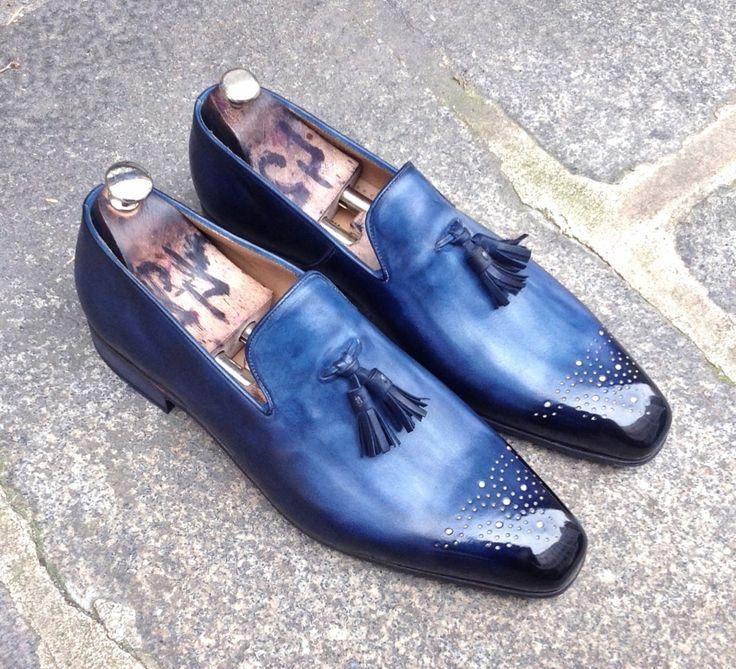 Caulaincourt shoes - Cassandre - bleu watrigant