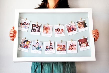 Another idea for the Instagram Origrami Polaroid prints for wedding or for the home