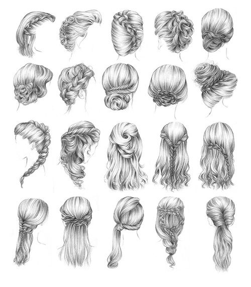 "Beautiful braided hairstyles. I'm loving several of these for the day I say ""I do"""