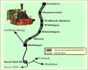Trenes turisticos de la Selva Negra - Viajar en tren por Europa
