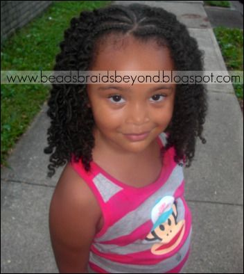 Little Girl Two Strand Twist | took A's two strand twists out (on day 4) from her Two Strand ...