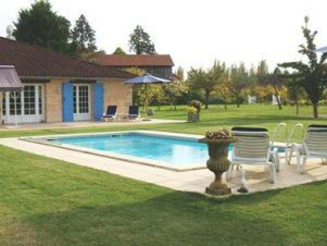 Vakantiehuis Villa Lembrun sur Lot - Le-Temple-sur-Lot - Lot & Garonne Frankrijk - Privé zwembad