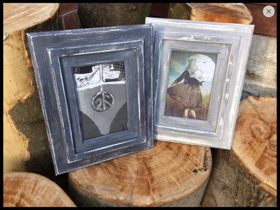 Unique shabby chic vintage wooden photo frames handmade,personalised prefect gift forall occasions bespoke to your requirements one of kind,