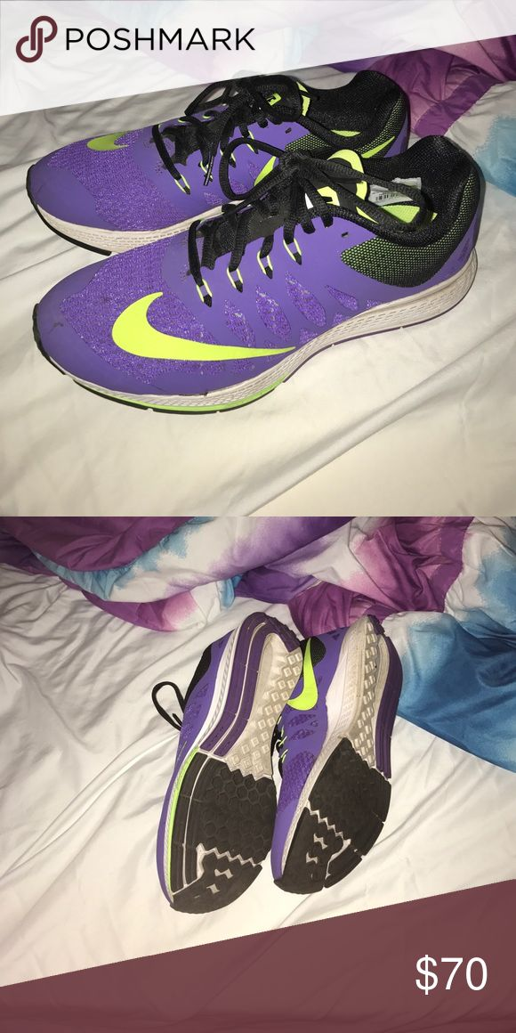 NIKE SNEAKERS BRAND NEW Purple running shoes brand new worn once! I have too many sneakers and need to declutter Nike Shoes Athletic Shoes