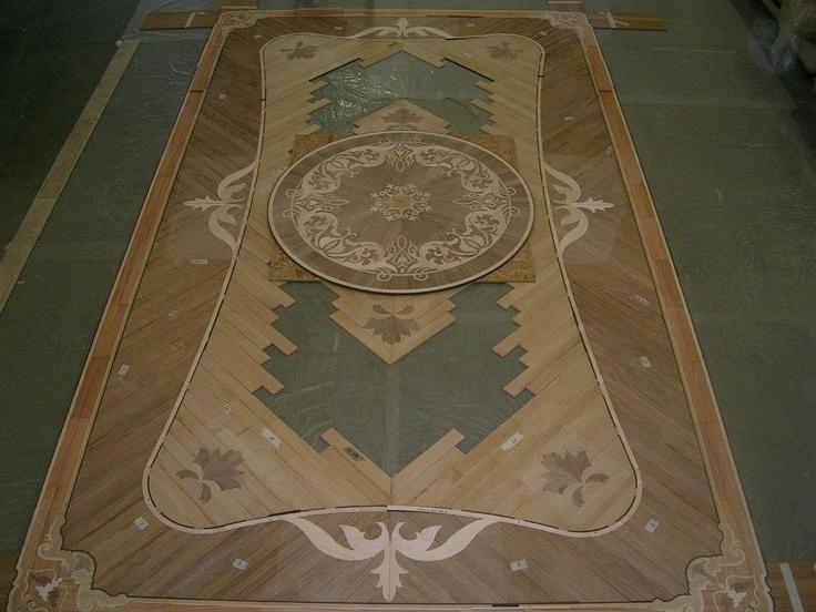 Wood flooring laser inlays berti parquet parquetlovers for Berti parquet