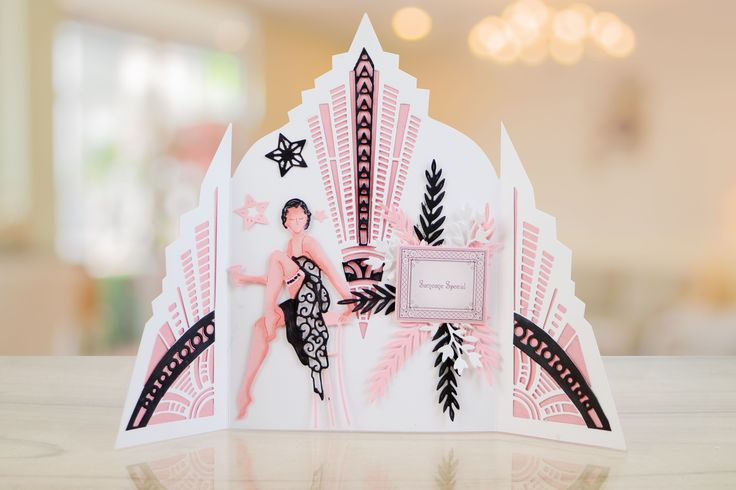 Part 2 of the beautifully elegant Art Deco collection from Tattered Lace  For more information visit: www.tatteredlace.co.uk