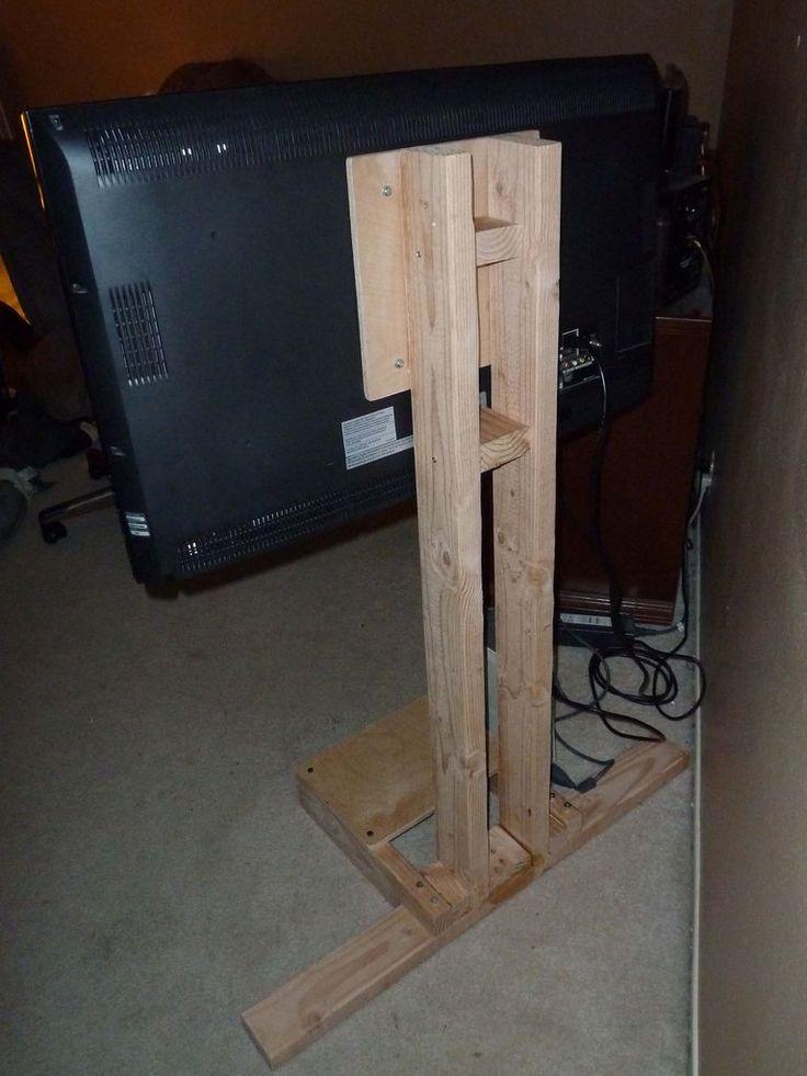 diy tv wall mount wood
