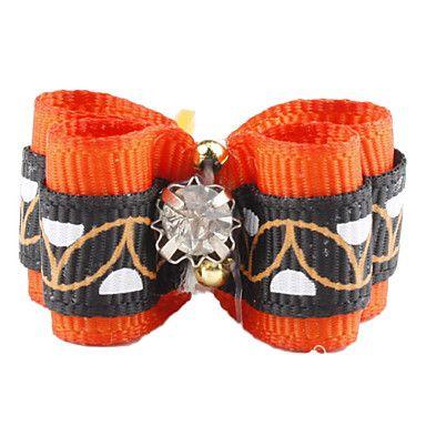 Estilo elegante minúscula Borracha Laço de Cabelo Banda para Gatos Cães – BRL R$ 1,97