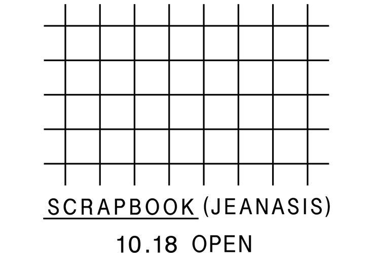 SCRAPBOOK(JEANASIS) 10.18 OPEN