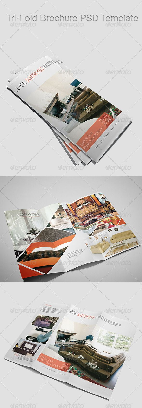 Tri-Fold Brochure Template #GraphicRiver Tri-Fold Brochure Template Compatibility: - Adobe Photoshop CS4, CS5, CS6 Content: - Tri-Fold Brochure one page - Very easy to change or edit info - Fully layered cmyk - ready for printing - easy to add your own photos Font Used: - helvetica you can find fonts here: - .myfonts /fonts/adobe/helvetica/ for any help you can feel free to message me directly :)) Created: 20August13 GraphicsFilesIncluded: PhotoshopPSD Layered: Yes MinimumAdobeCSVersion: CS4…