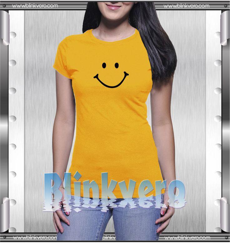 Buy Tshirt Smiley Smile Unisex Tshirt Size S-3Xl