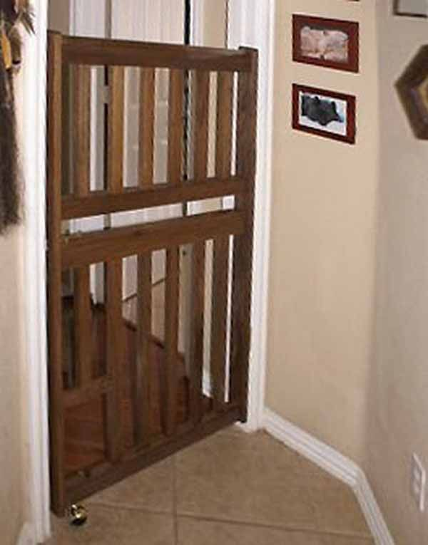 Door can NOT be present with tall gate. Description from gates2u.com. I searched for this on bing.com/images
