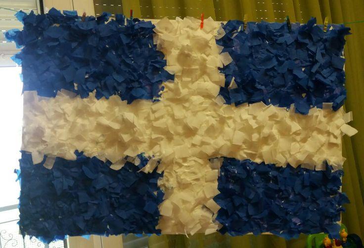 Ελληνική σημαία!
