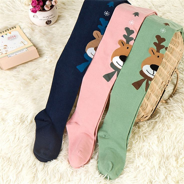 Children Spring Tights For Girls Toddler Pantyhose Mouse Cartoon Luxury Soft Kids Autumn Winter Girl Stocking Winter 70D0723