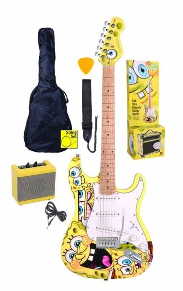 SpongeBob SquarePants: Electric Guitar Pack - Yellow. £199.00