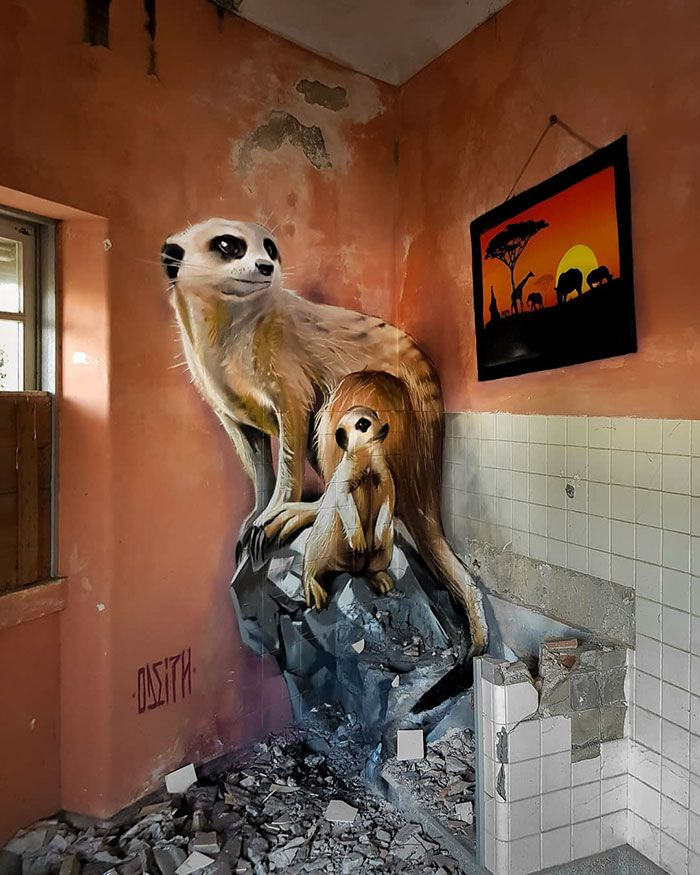 Portuguese Street Artist Paints 3D Creature Graffiti And It's Not For The Faint Of Heart (39 Pics)   – Alles Öffentlich