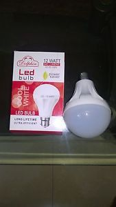Introducing the new fully dimmable 12w LED Bulb from Dolphin, its unique design radiates warm light in all directions, making it a true alternative to the incandescent lamp. Saving 80% on the cost of electric and lasting an incredible 50, 000hours makes this a superb investment. Dolphin offers this energy saving 12w LED Bulb for sale on ebay.in at best prices.