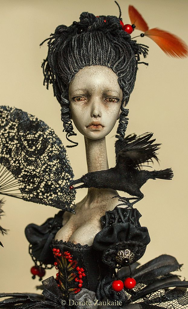 Assemblage by Tireless Artist The crackles of her lips and the overall appearance of this dolls face...