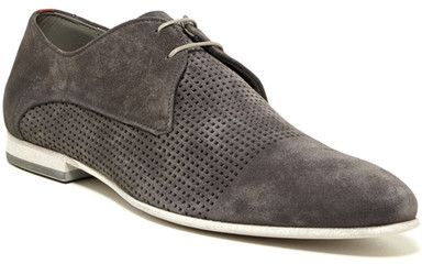 HUGO BOSS Virtuol Suede Perforated Oxford