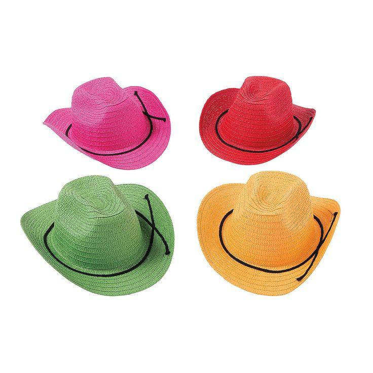 Kids'+Cowboy+Hats+-+OrientalTrading.com