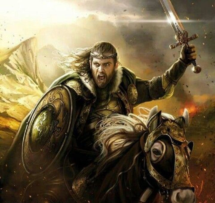 Theoden (King of Rohan) by Magali Villeneuve