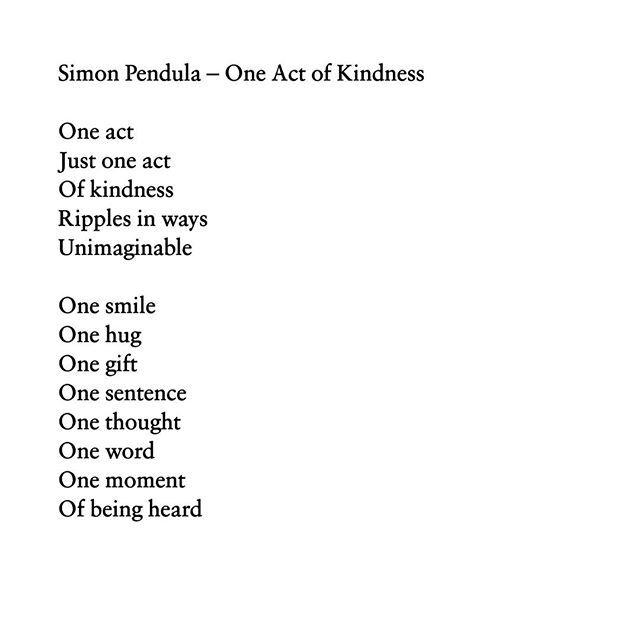 One Sentence Poems 6