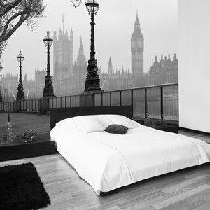 Großformat Tapete London Fog, 366×254 cm