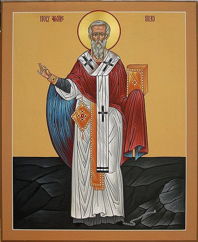 Saint Silas | This is an icon of St. Silas the Apostle (one … | Flickr