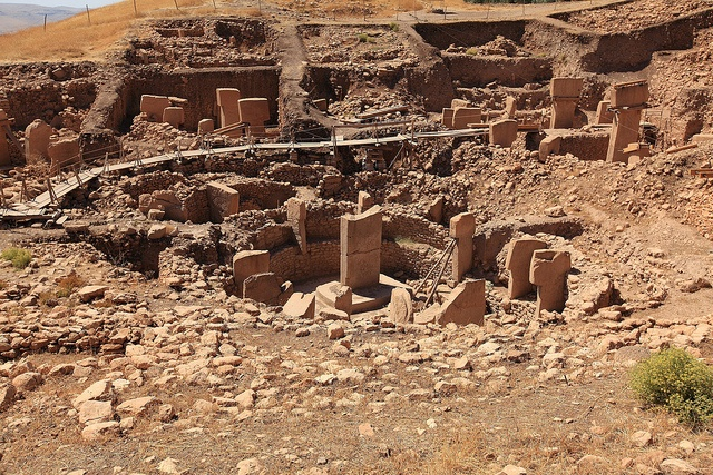 Gobekli Tepe - the ancient temple in the world by nikidel, via Flickr