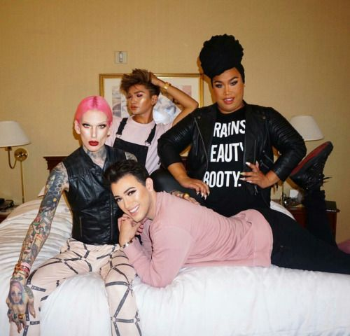 Jeffree Star, Manny Mua and Patrick Starr