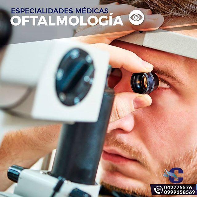La Oftalmología es una especialidad dentro de la medicina que estudia y trata las enfermedades del ojo humano y sus anexos. Teniendo como misión el diagnóstico de las enfermedades oculares, trastornos y dolencias del ojo.  Nuestro personal de oftalmólogos cuenta con muchos años de experiencia en la especialidad, lo cual garantiza un examen y diagnostico seguro, rápido y certero. ▫️ ▫️ ▫️ Call Center ☎ 042775576 | 0999158569 Emergencias 24horas 🚑🕛 ▫️ ▫️ ▫️ #ClinicaGranados…