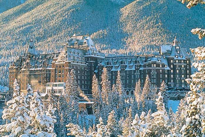 The Fairmont Banff Springs | Banff Canada | Crystal Ski