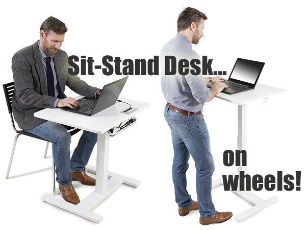 25 Best Sit Stand Desk Ideas On Pinterest Standing