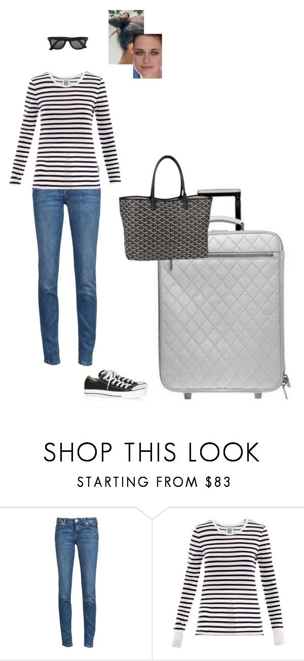"""Sem título #5499"" by gracebeckett on Polyvore featuring moda, Vivienne Westwood Anglomania, Zoe Karssen, Converse, Ray-Ban e Goyard"
