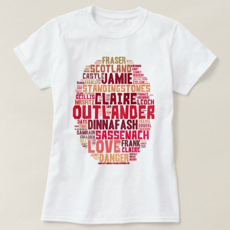 Outlander Words in Color T-Shirt - tap to personalize and get yours