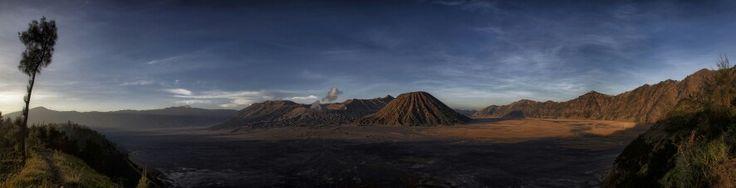 Bromo panorama...wonderful view.