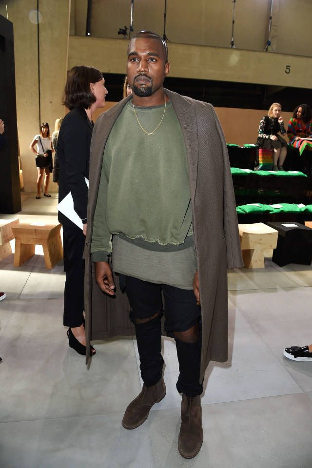Kanye West at Celine. The style set has officially descended upon the city of lights for the last week of shows. See who is front row and making the party rounds: