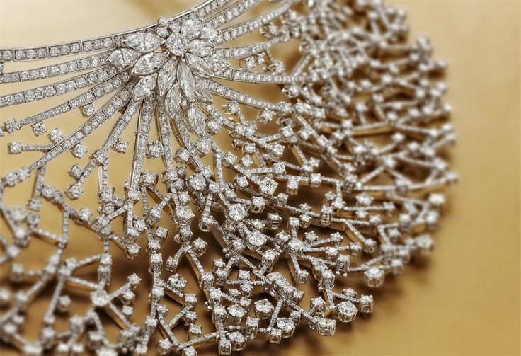 Grace by #Chimento #Couture: white #gold  #necklace with white #diamonds