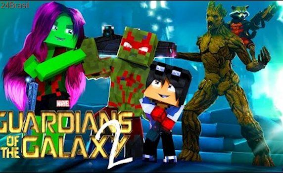 Minecraft: Who's Your Family? OS GUARDIÕES DA GALAXIA ( Guardians of the Galaxy 2 )