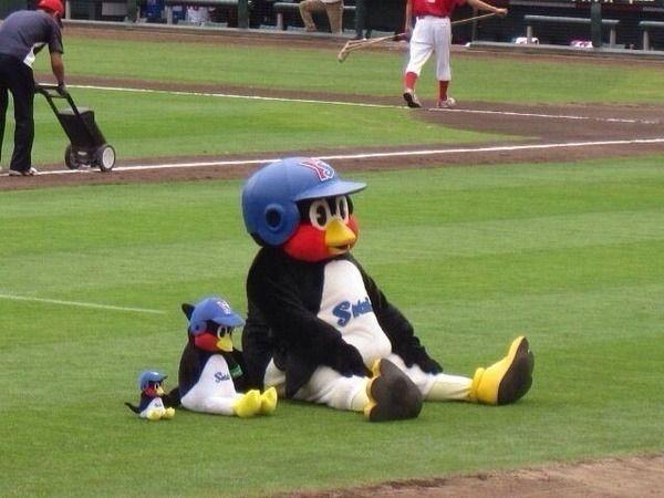 Japanese Mascot of baseball