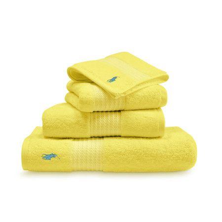 Ralph Lauren Home - Player Towel - Slicker Yellow - Hand Towel