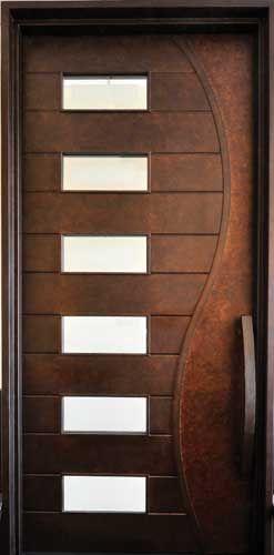 Beautiful!! Portella Iron Door Contemporary Door M3000