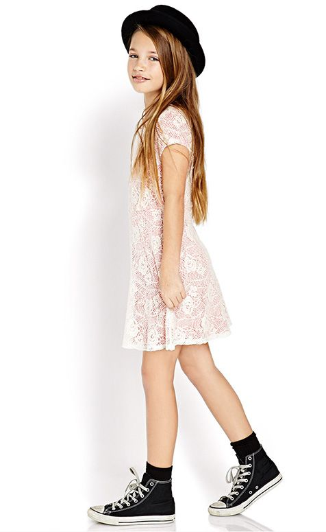 Get this must have spring #F21Girls look here! #Juniors #OOTD